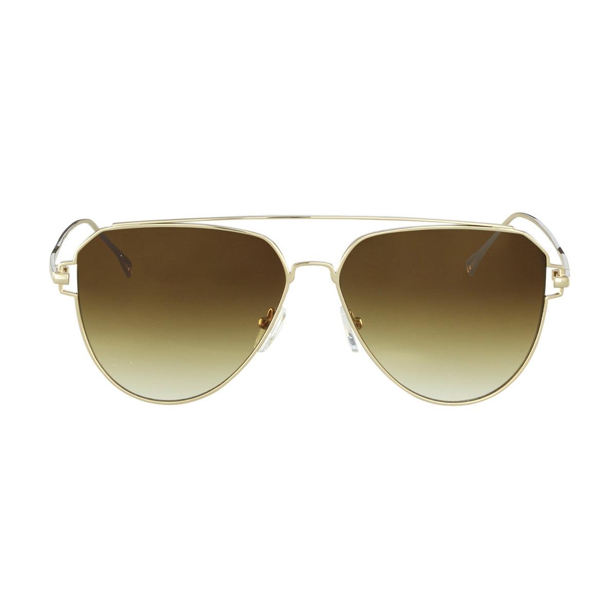 b17af3a288245 óculos de sol sabrina sato fashion dourado sb7010c2. Carregando zoom.