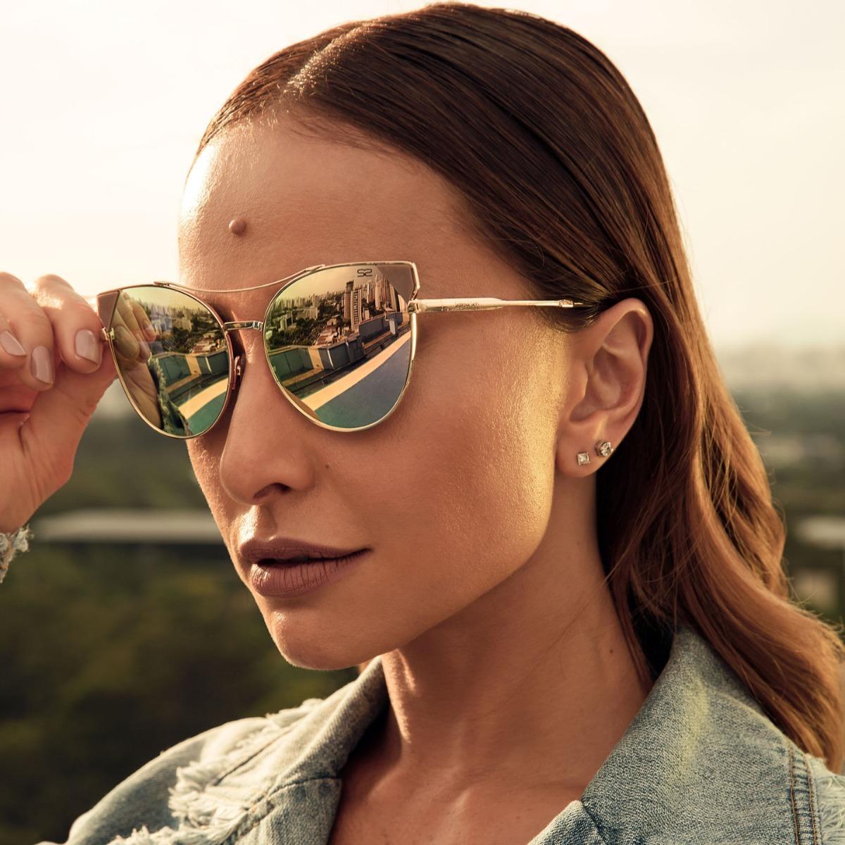e282c16605f11 óculos de sol sabrina sato - sb7013 c4 - dourado. Carregando zoom.
