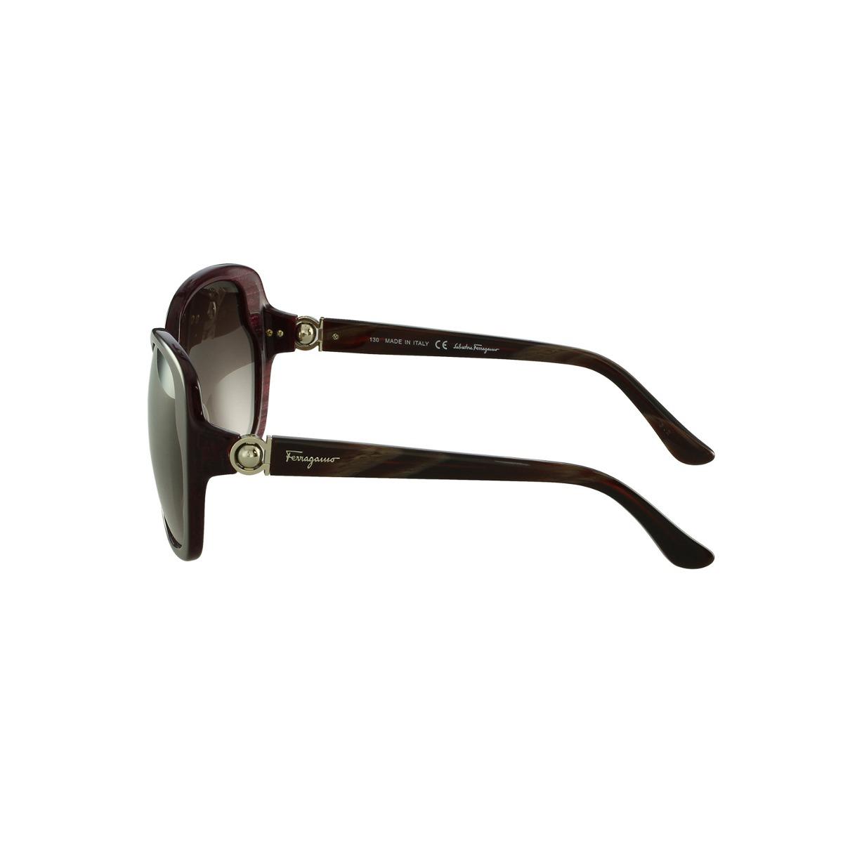 Óculos De Sol Salvatore Ferragamo Casual Roxo - R  735,00 em Mercado ... 8797c84823