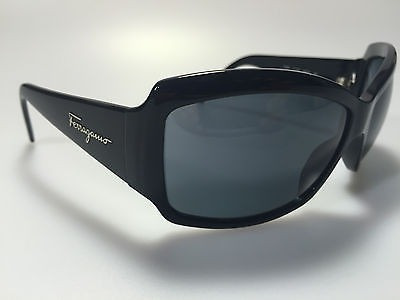 35c7b0e0b Óculos De Sol Salvatore Ferragamo Preto - Italiano Mod. 2096 - R ...