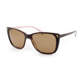 98b678e5b1 Oculos De Sol Feminino Quadrado Marron Com Lente Polarizada - Óculos ...