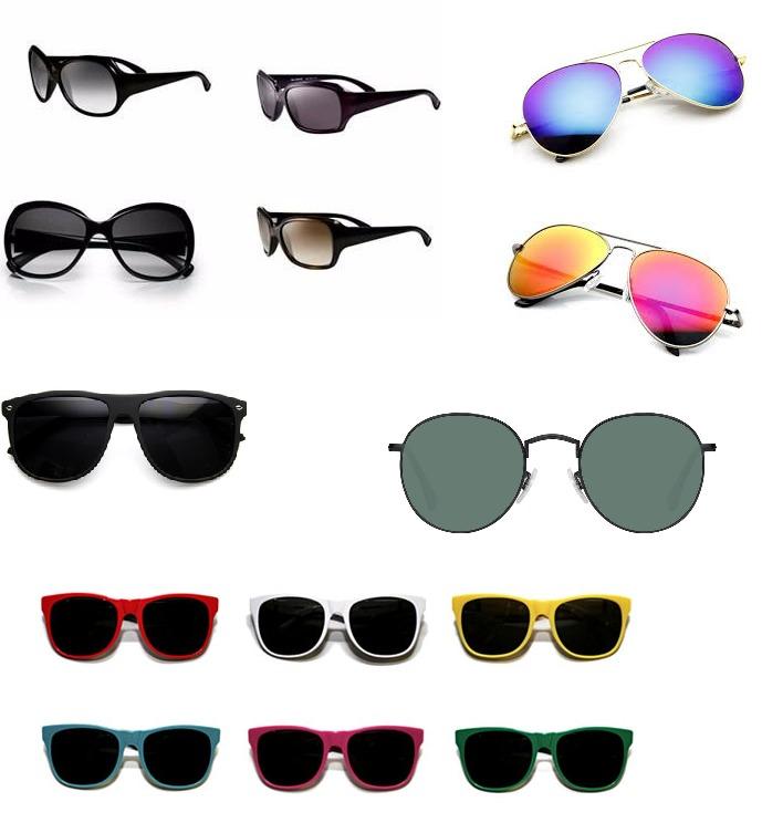 39deb72ee060d Oculos De Sol Sem Marca - Lote 10 Unidades Revenda Atacado - R  120 ...