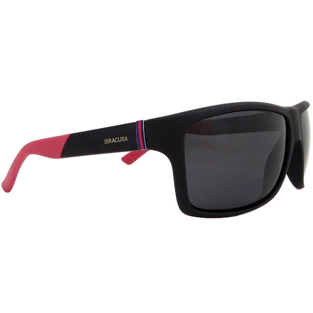 ad7ae585d óculos de sol siracusa polarizado masculino preto e vermelho. Carregando  zoom.