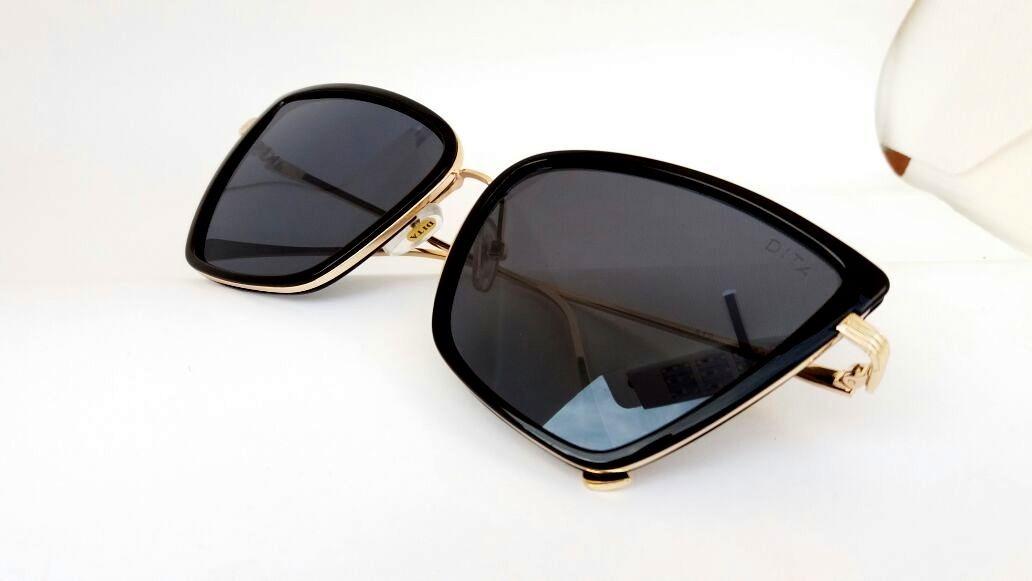d2ddd5a2e óculos de sol solange sabrina sato gatinho preto marron onça. Carregando  zoom.