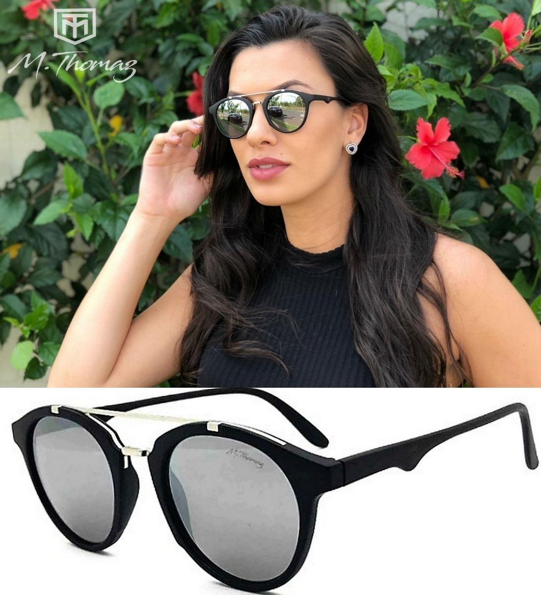 Oculos De Sol Solar M.thomaz Mt50 Uv400 Espelhado - R  67,00 em ... 10ed0732b7