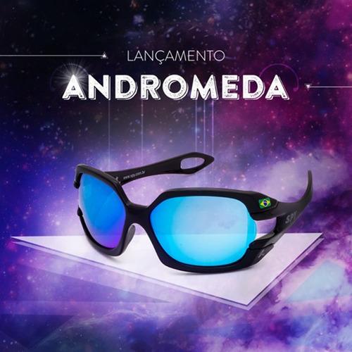 óculos de sol spy original andromeda 68 - lente azul - novo!