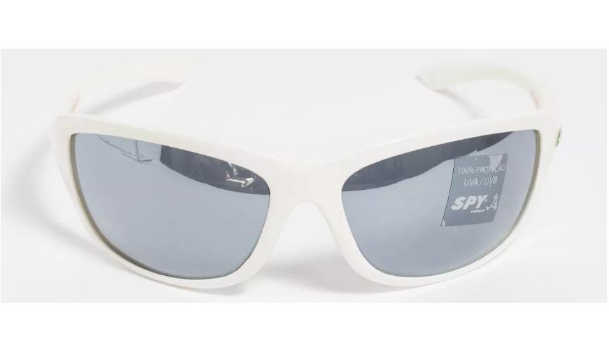 e66a5b2ff6811 óculos de sol spy original - link 44 branco lente espelhada. Carregando  zoom.