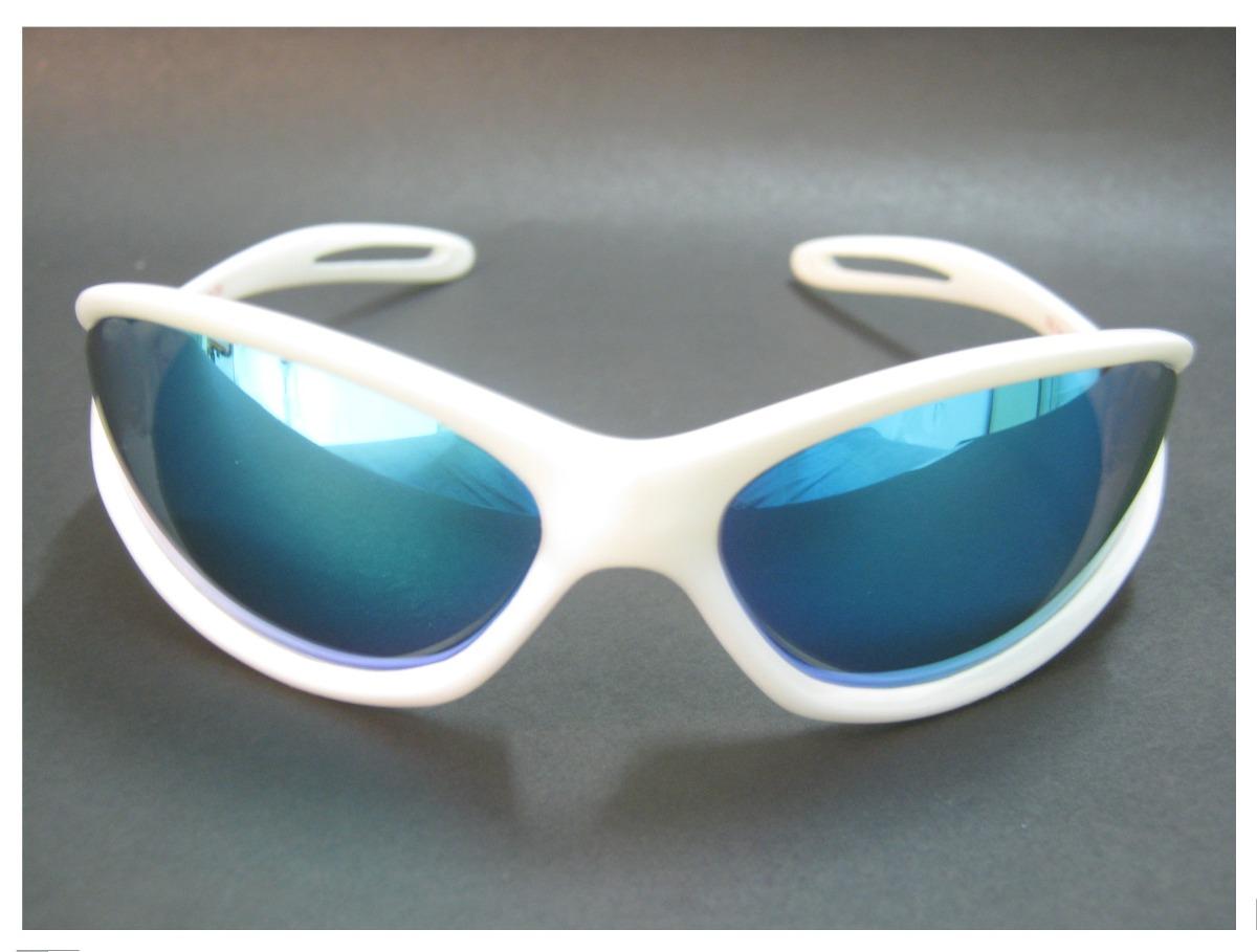 349288291 óculos de sol spy original - mod open 39 branco - lente azul. Carregando  zoom.