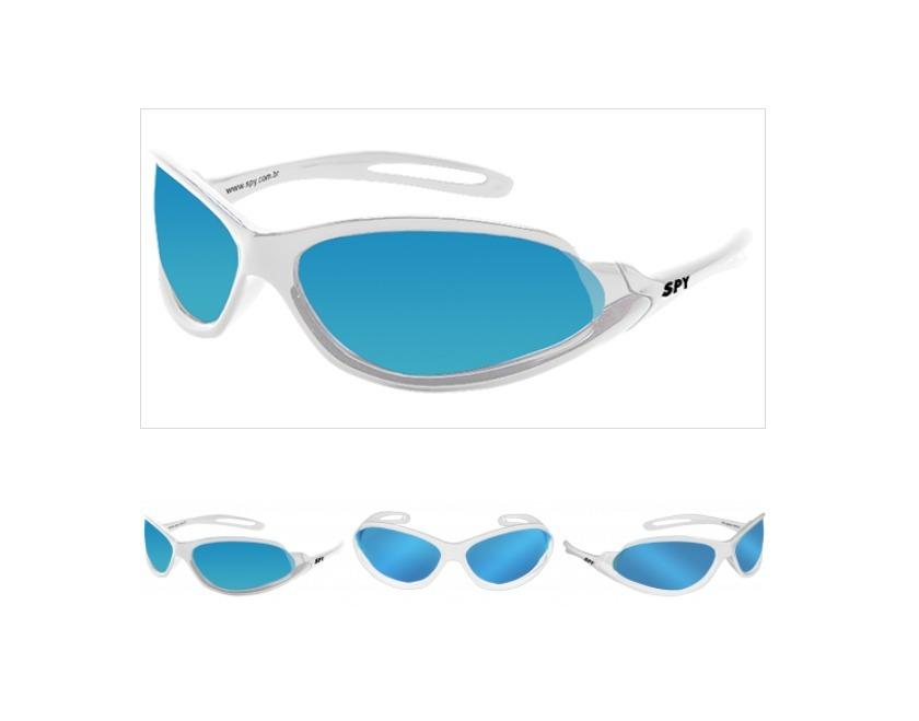 óculos de sol spy original - mod open 39 branco - lente azul. Carregando  zoom. e72ac8d5ea