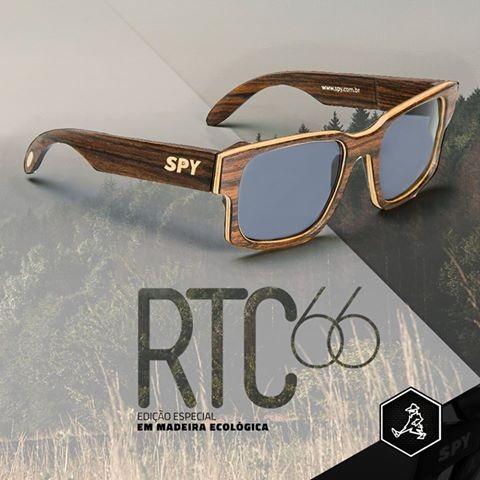 ae9b81d6c Óculos De Sol Spy Original Rtc 66 - Madeira Edição Especial - R$ 389 ...