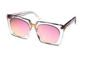 d9ee012c6 Oculos De Sol Feminino Transparente Rosa - Óculos no Mercado Livre ...