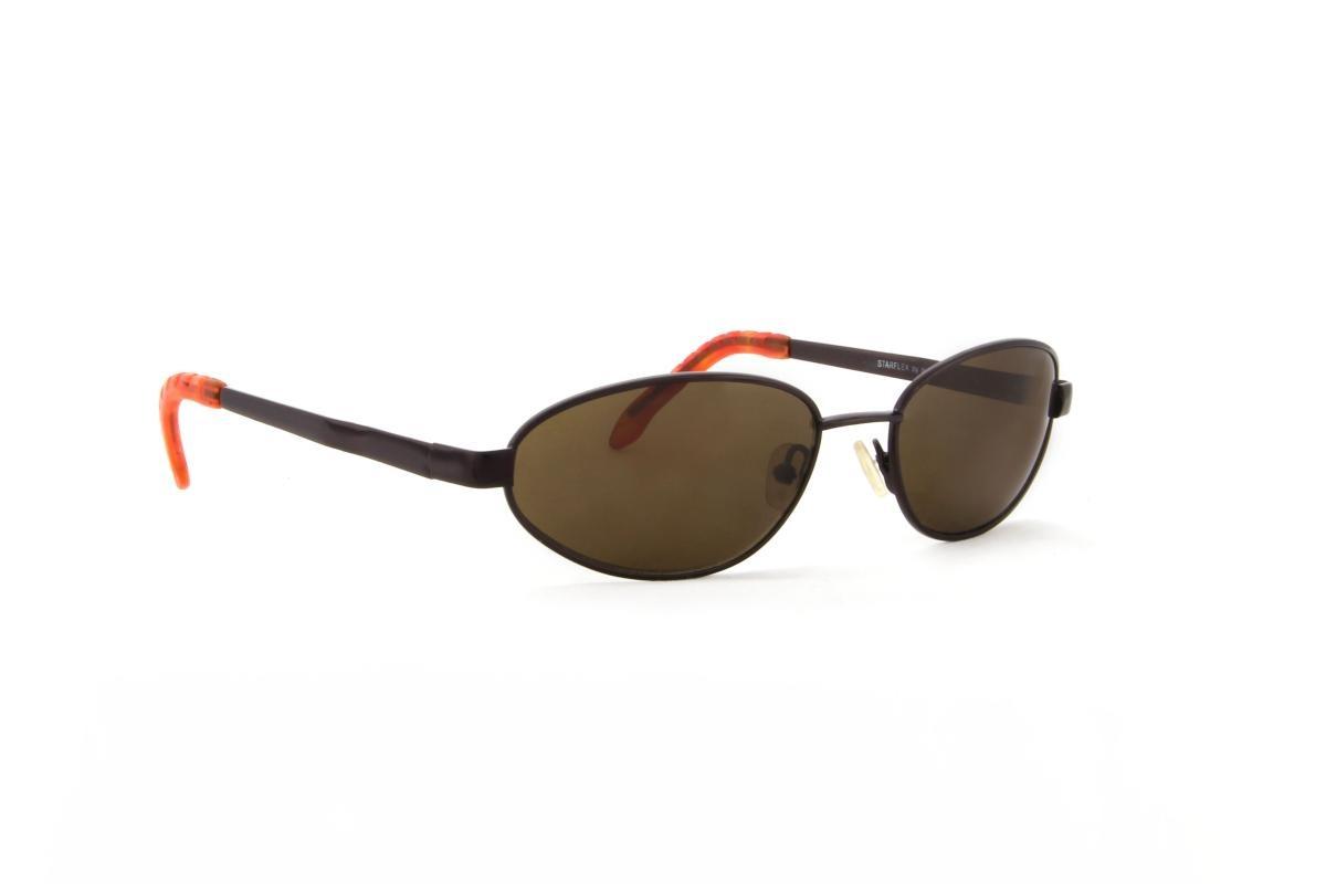 óculos de sol starflex armação metal bronze lente marrom. Carregando zoom. 34b31f10bb