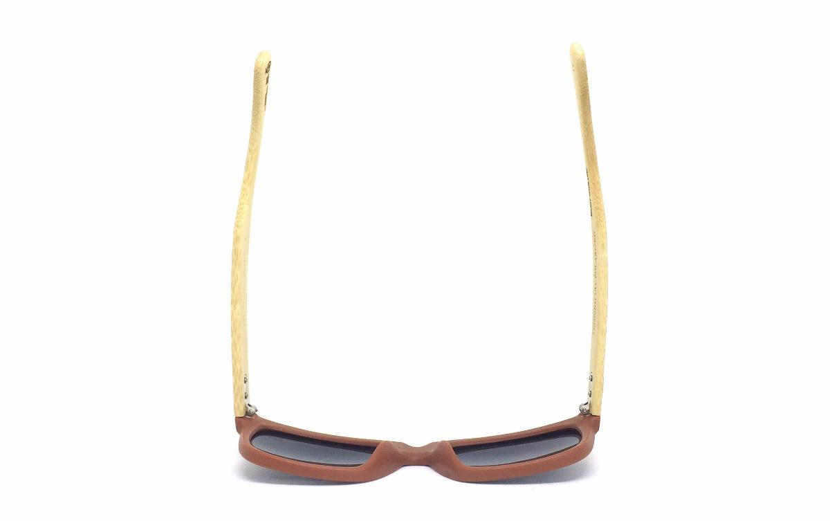 5c1000158 Oculos De Sol Sunhot Bm.001 Bamboo Black Polarizado - R$ 199,99 em ...