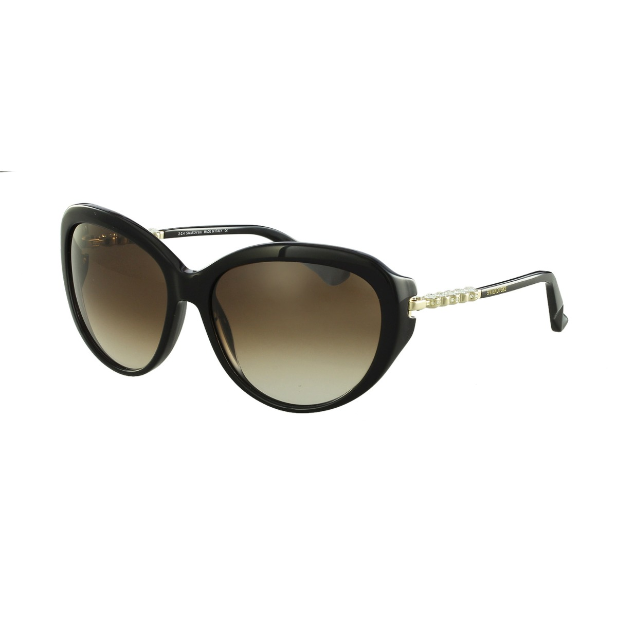 8b3c184e9ec96 óculos de sol swarovski fashion preto. Carregando zoom.