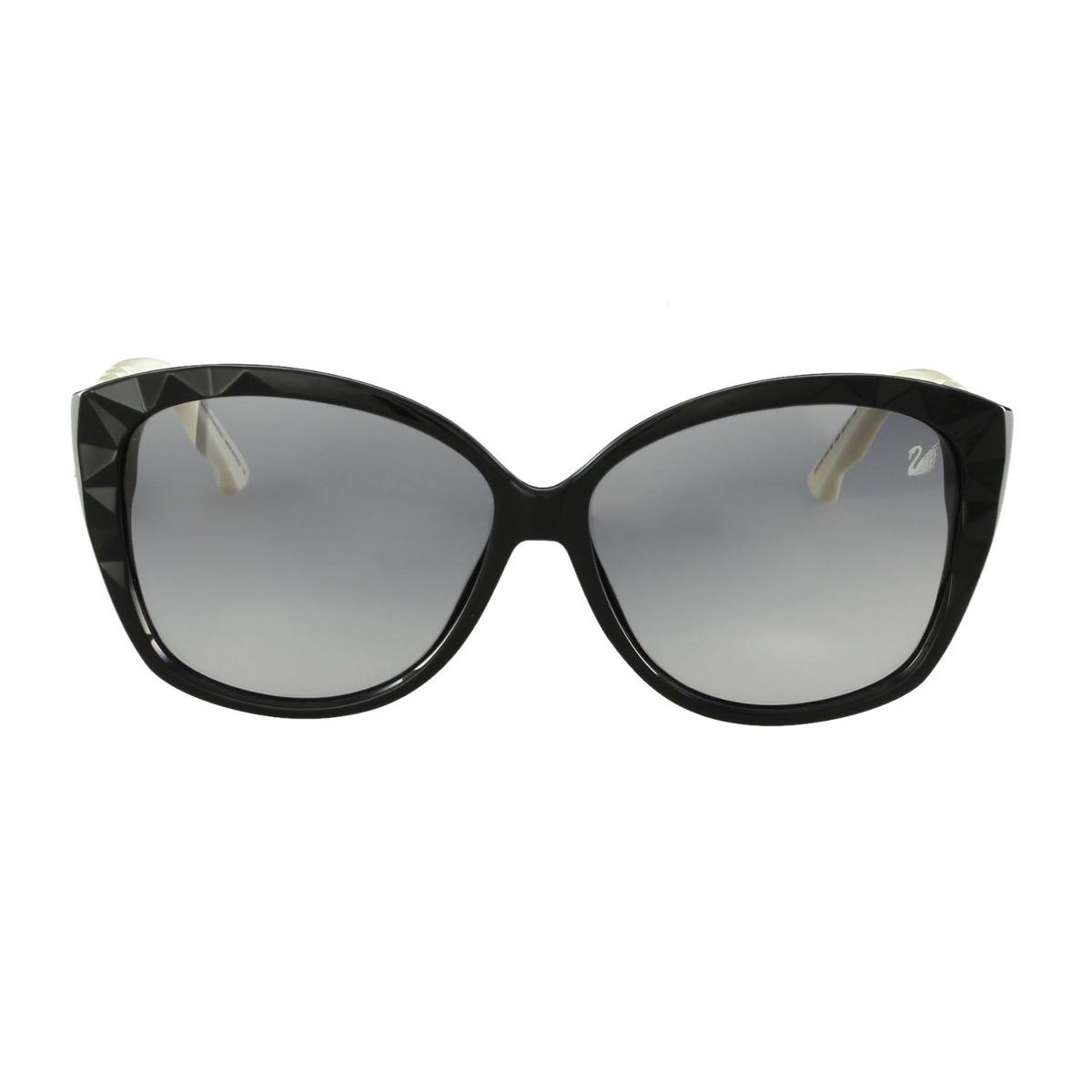 c4792463fb032 óculos de sol swarovski gatinho preto. Carregando zoom.