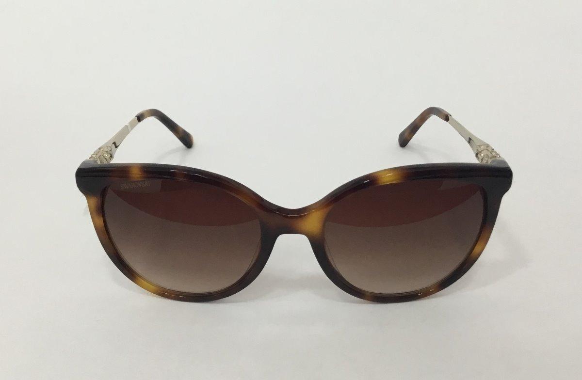 Óculos De Sol Swarovski Marrom - R  889,00 em Mercado Livre 3a7df2cc9e