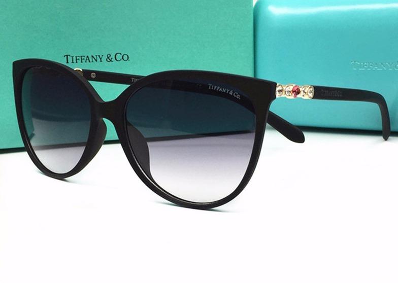 26f1db178a36a Oculos De Sol Tiffany   Co Tf 4122b Forma Gatinho Moda 2018 - R  381 ...
