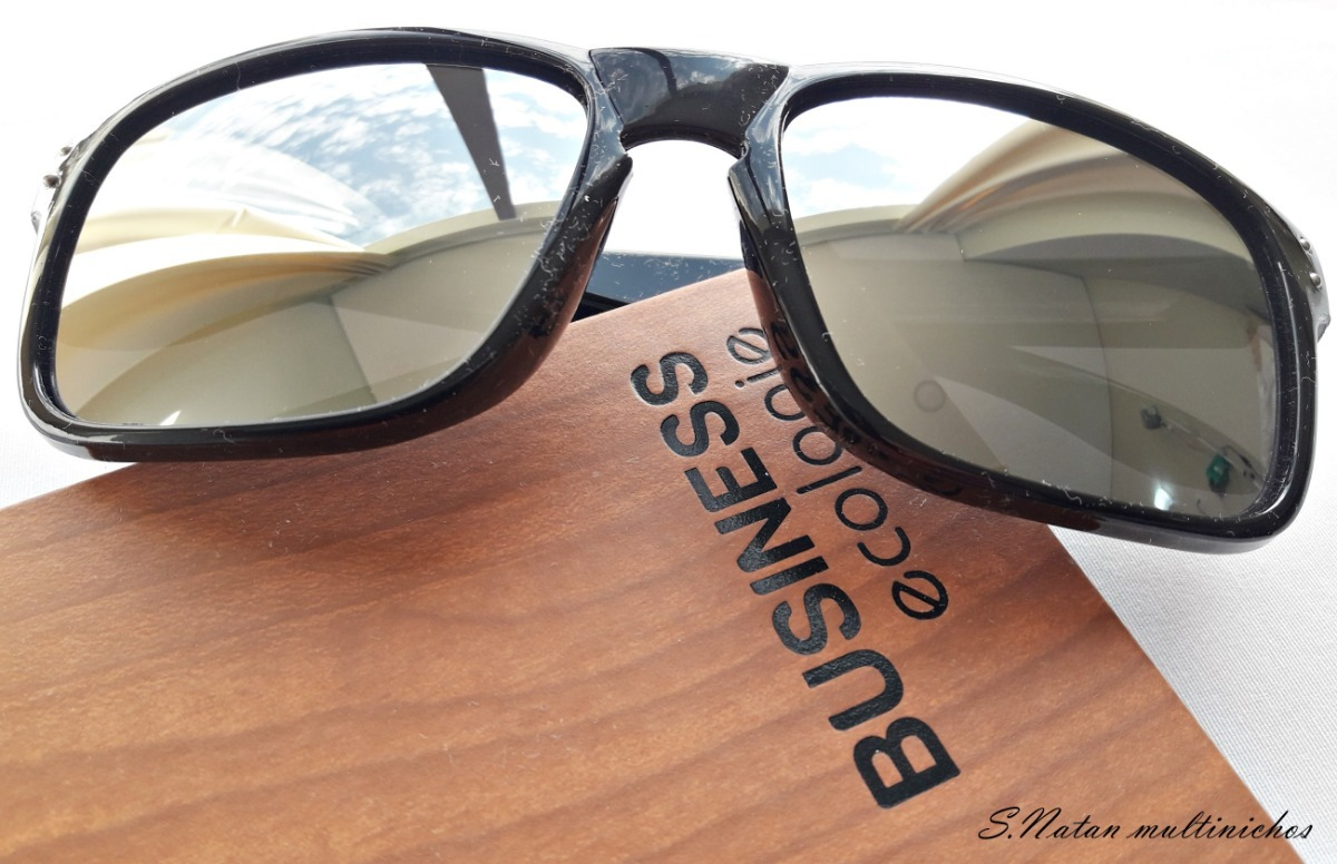 0d24ff0bc óculos de sol tipo holbrook preto lentes prata espelhadas!! Carregando zoom.