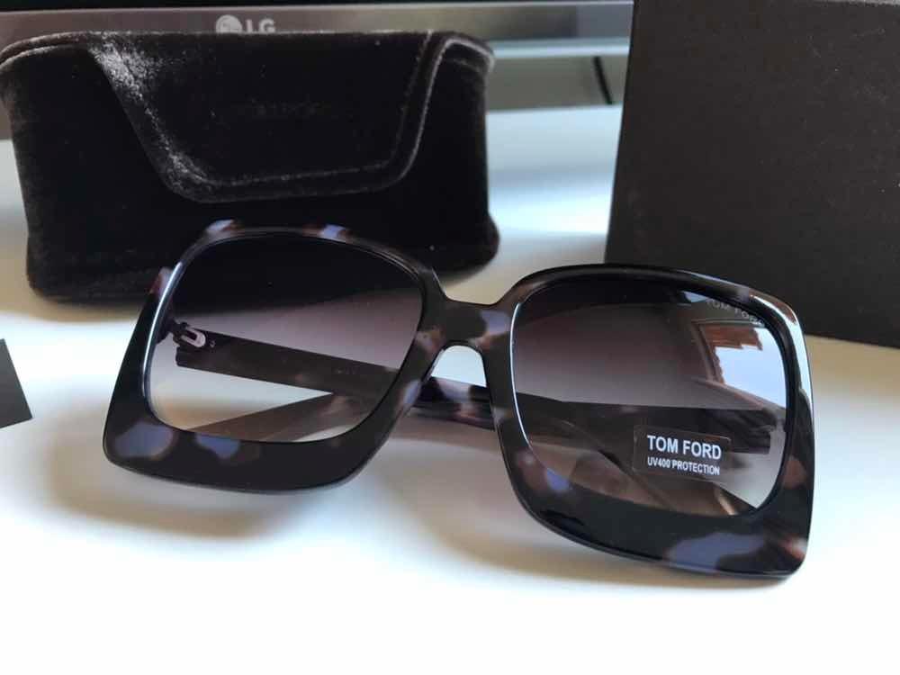 Óculos De Sol Tom Ford Havana Acetato - R  279,99 em Mercado Livre ac96bb4916