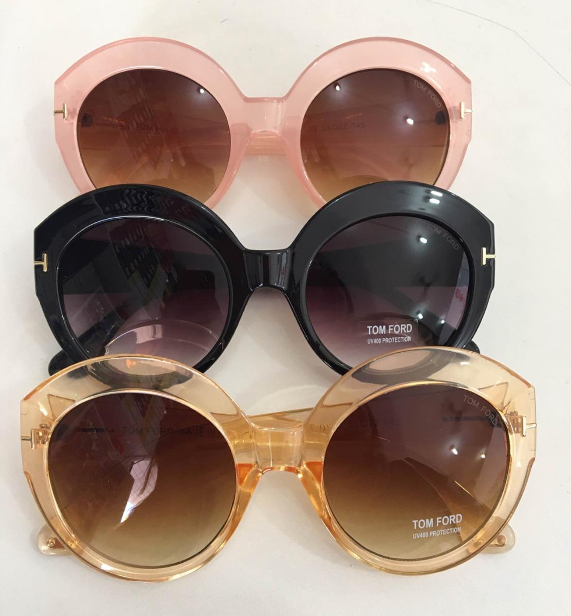 8135e0ae7536d óculos de sol tom ford round- feminino. Carregando zoom.