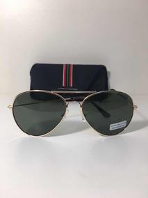3e1a3d3cc Oculos Tommy Hilfiger Aviator Metal - Óculos no Mercado Livre Brasil