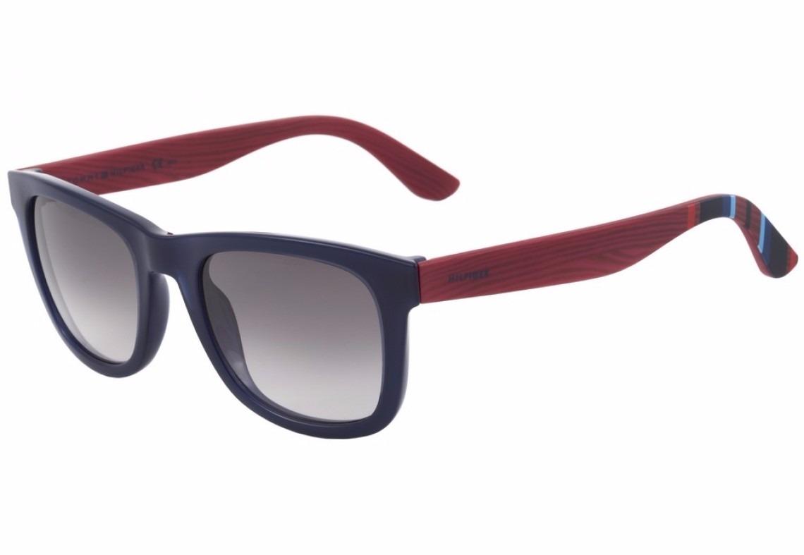 b002518acca06 óculos de sol tommy hilfiger th 1313s azul e vermelho - 51eu. Carregando  zoom.