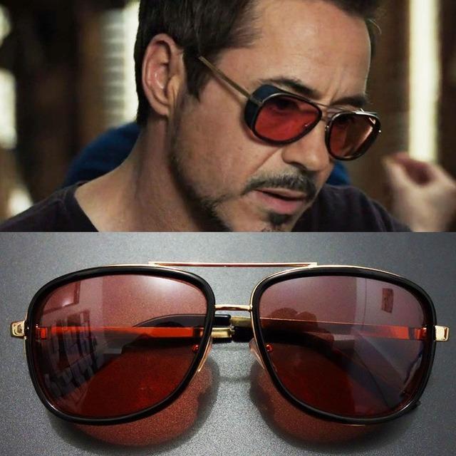 Óculos De Sol Tony Stark Homem De Ferro Matsuda - R  89,90 em ... e7d6ac3725