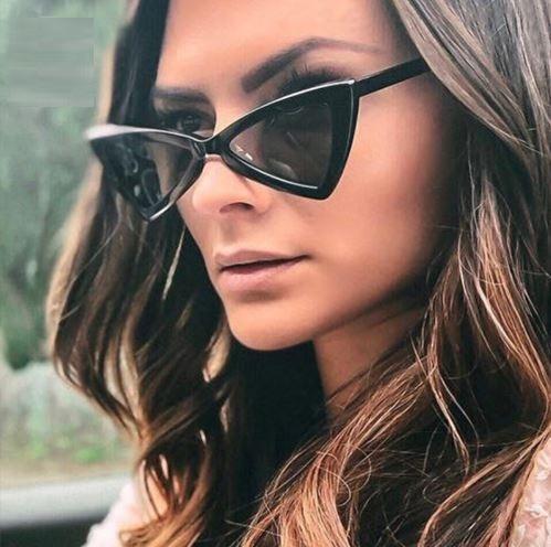 Óculos De Sol Triangular Lolita Super Promoção Frete Gratis - R  75 ... fb25f429d6