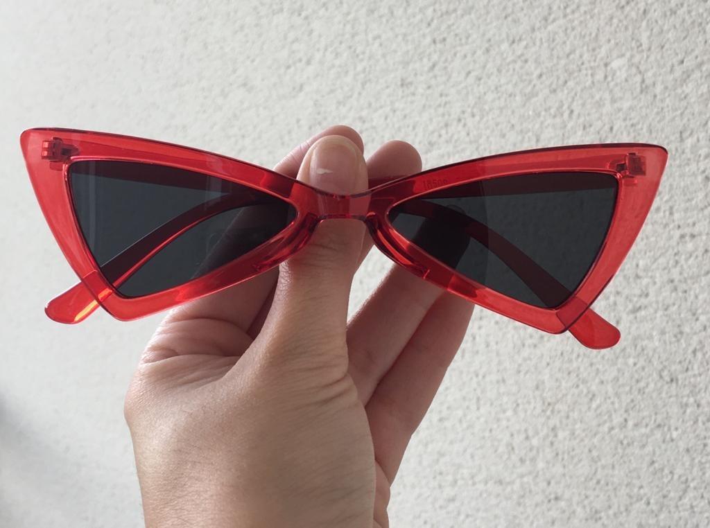 376310fa9a923 Óculos De Sol Triangular Lolita Super Promoção Pronta Entreg - R  32 ...