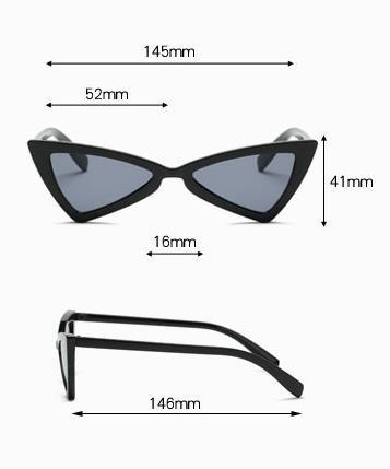 Óculos De Sol Triangular Super Promoção Frete Gratis Tendenc - R  75 ... 1fc44f5240