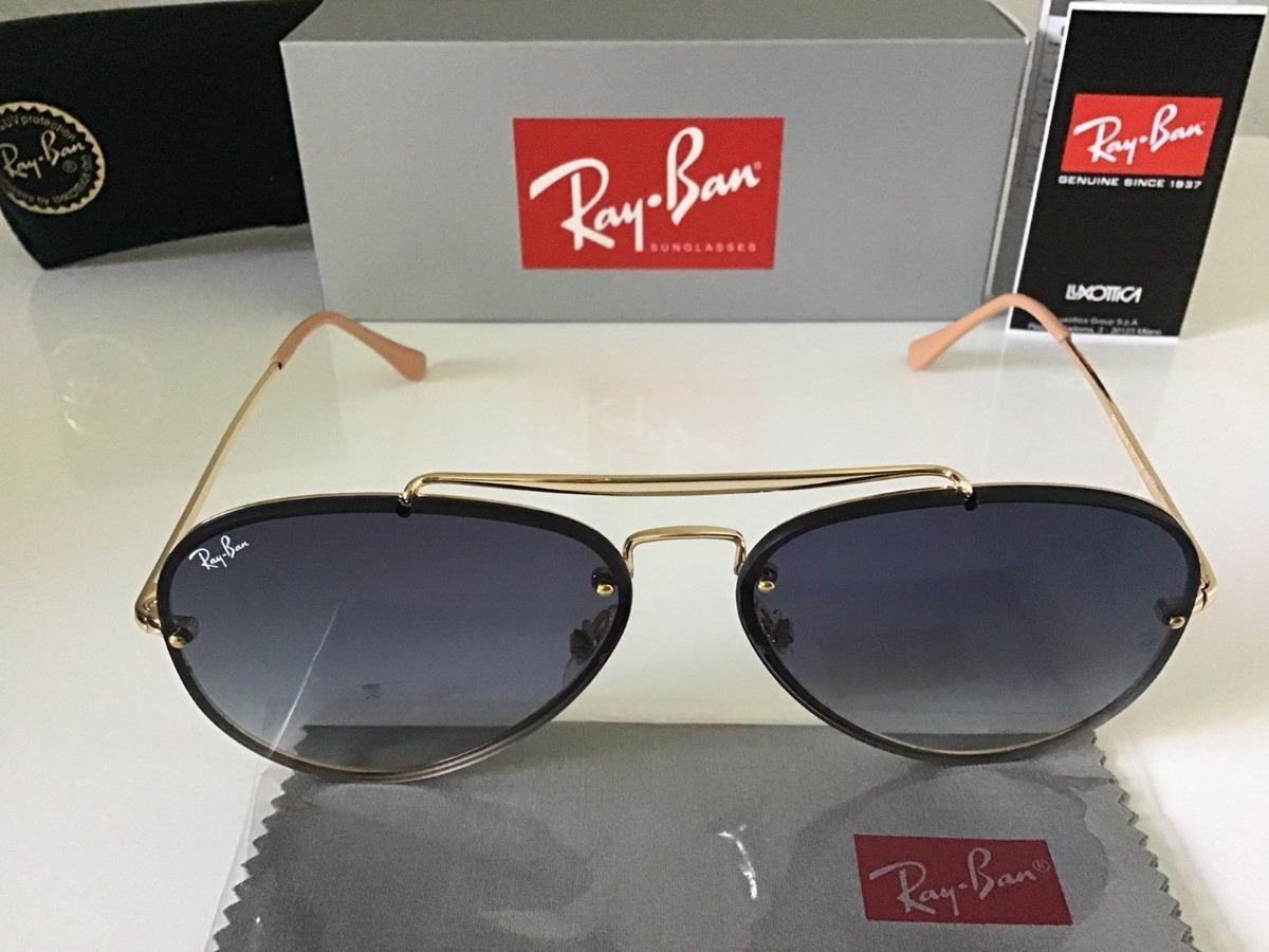 474a30e38fed3 oculos de sol unissex aviador ray ban blaze rb3584n uv400. Carregando zoom.