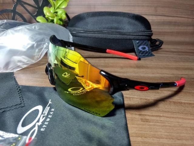 Óculos De Sol Unissex Esportivo Oakley Ev Zero - R  231,00 em Mercado Livre 751b9df75e