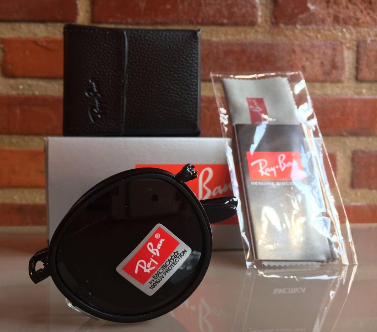 Oculos De Sol Unissex Modelo Redondo Dobravel Frete Gratis - R  279 ... 362d6109af