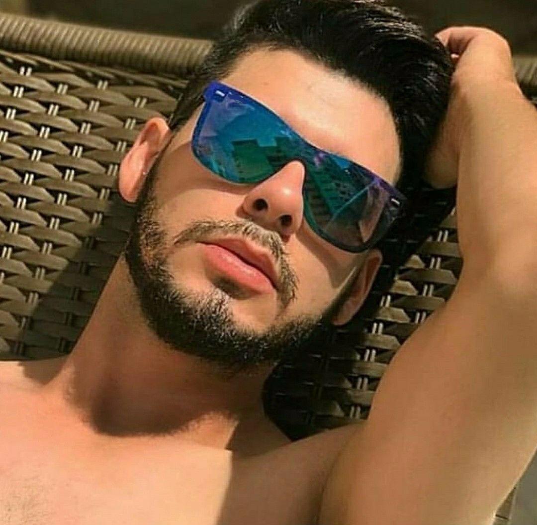 óculos de sol unissex quadrado lente azul espelhado preto. Carregando zoom. b788200af2