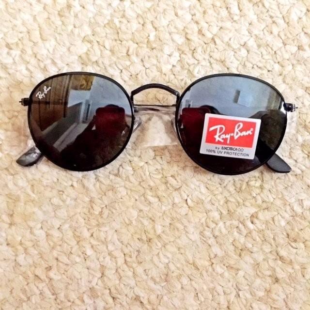 Oculos De Sol Unissex Ray Ban Original Dobrável Frete Grátis - R ... 67f1e9e436587