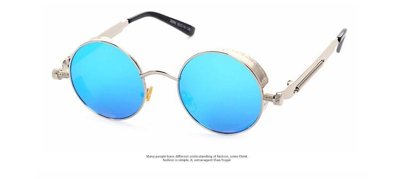Óculos De Sol Unissex Redondo Shades Estilo Alok Vintage - R  159,90 ... fa572432b5