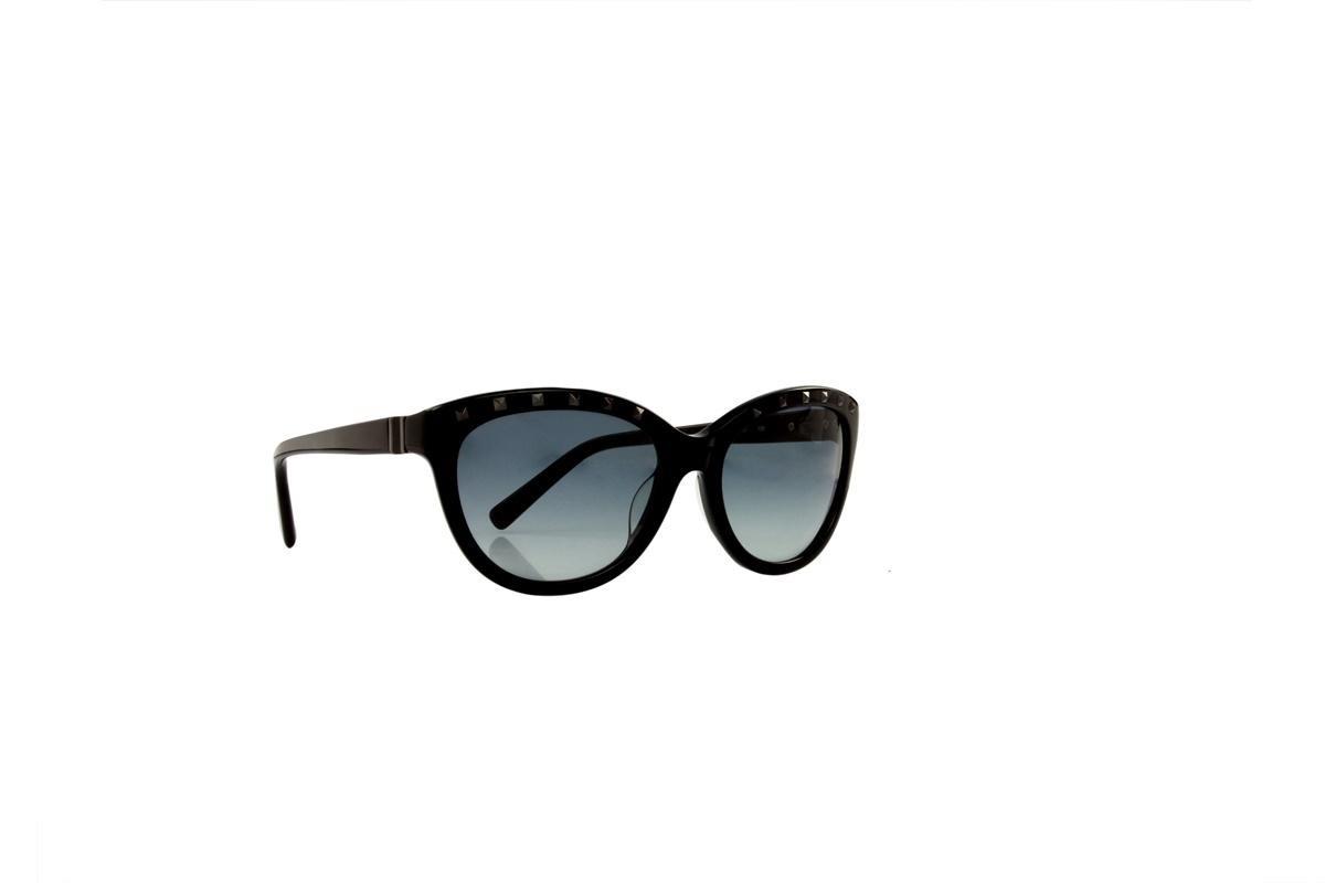 Óculos De Sol Valentino 100% Proteção Uv Preto Melani - R  507,00 em ... 08ffe87ba6