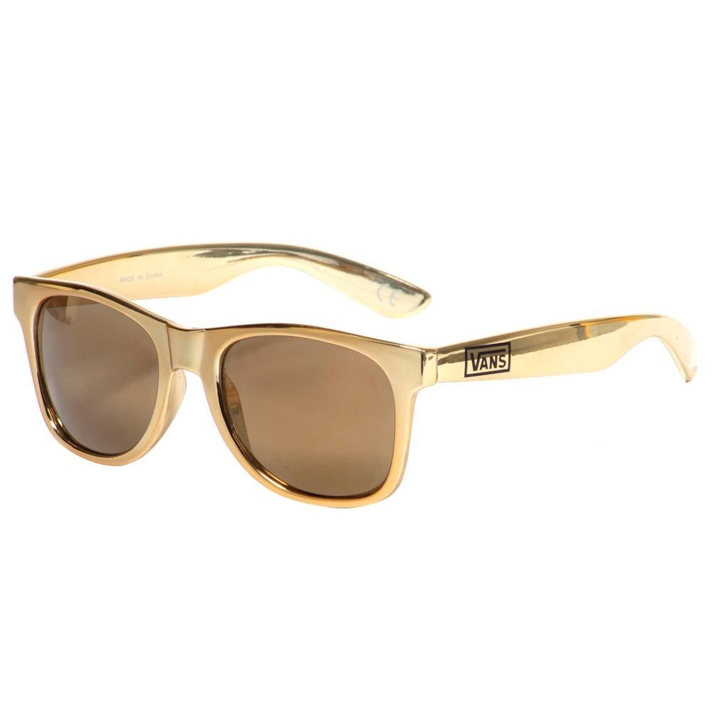 6b920dc58f138 Óculos De Sol Vans Spicoli 4 Metallic Gold Original - R  122,90 em ...