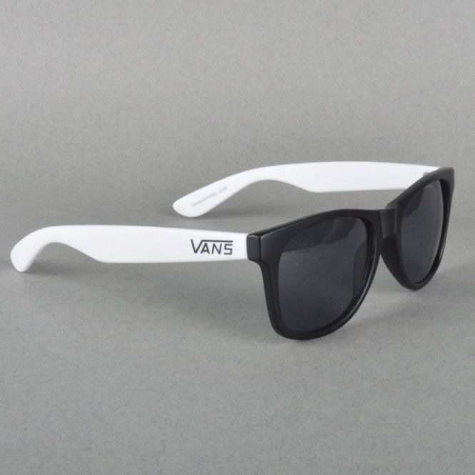 64e03322330ed Oculos De Sol Vans Wayfarer Spicoli Black white Novo - R  119,90 em ...
