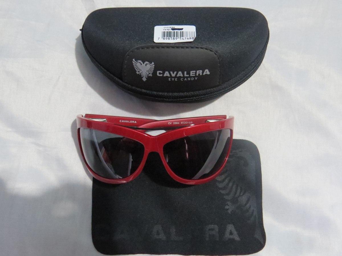 6e89878e7 Óculos De Sol Vermelho Cavalera Frete Grátis Imperdível Top - R$ 119 ...