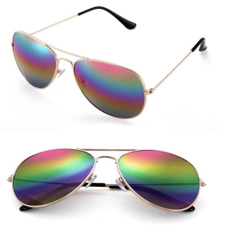 af26629158d33 óculos de sol verão 2018 aviator feminino barato colorido. Carregando zoom.