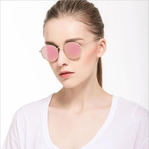 c3888a2c6 Óculos De Sol Verão Lente Espelhada Feminino Moda 2018 - R$ 38,90 em ...