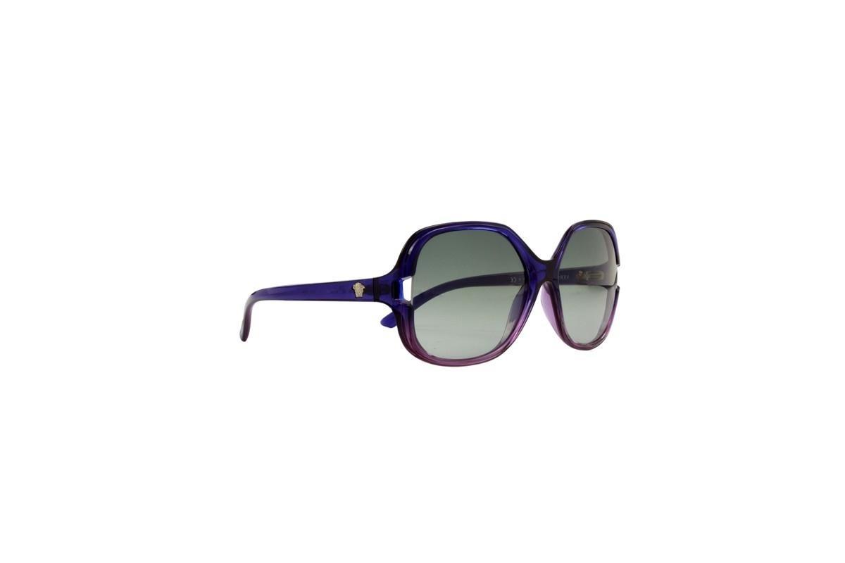 2603d15617cb3 óculos de sol versace 100% proteção uv azul com lilas melani. Carregando  zoom.