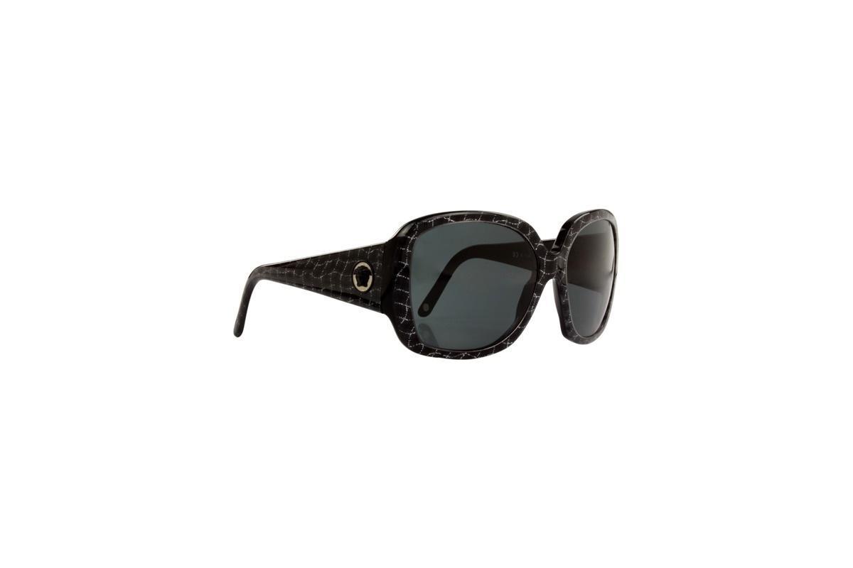 b91b966436abb óculos de sol versace 100% proteção uv preto opticas melani. Carregando  zoom.