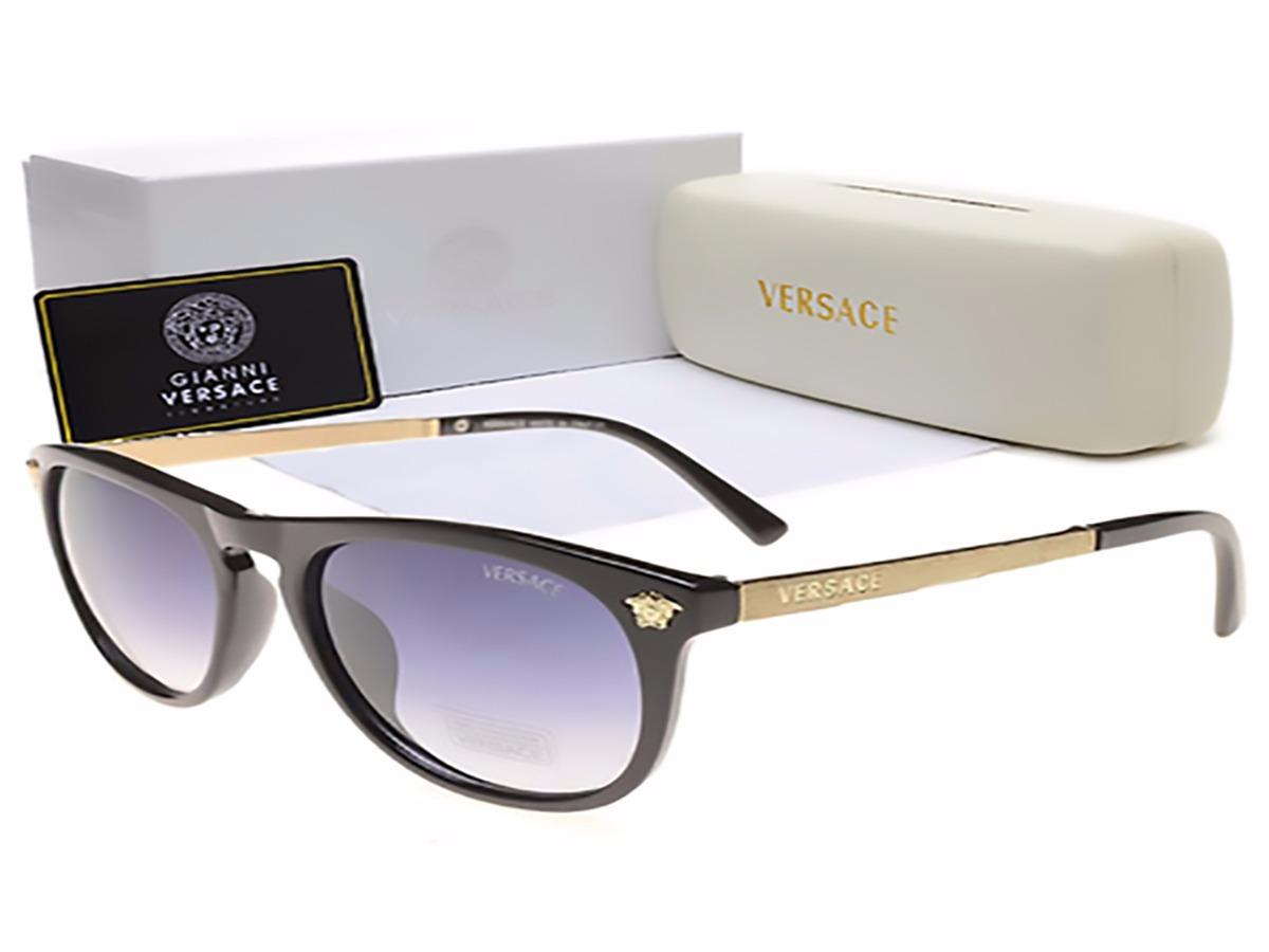 615dd522bc29a oculos de sol versace 320 mulher preto dourado + acessórios. Carregando  zoom.