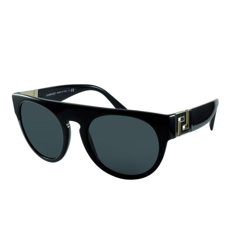 b2fc3430020e1 óculos de sol versace ve4333 gb1 87 55x21 145 rock greca. Carregando zoom.