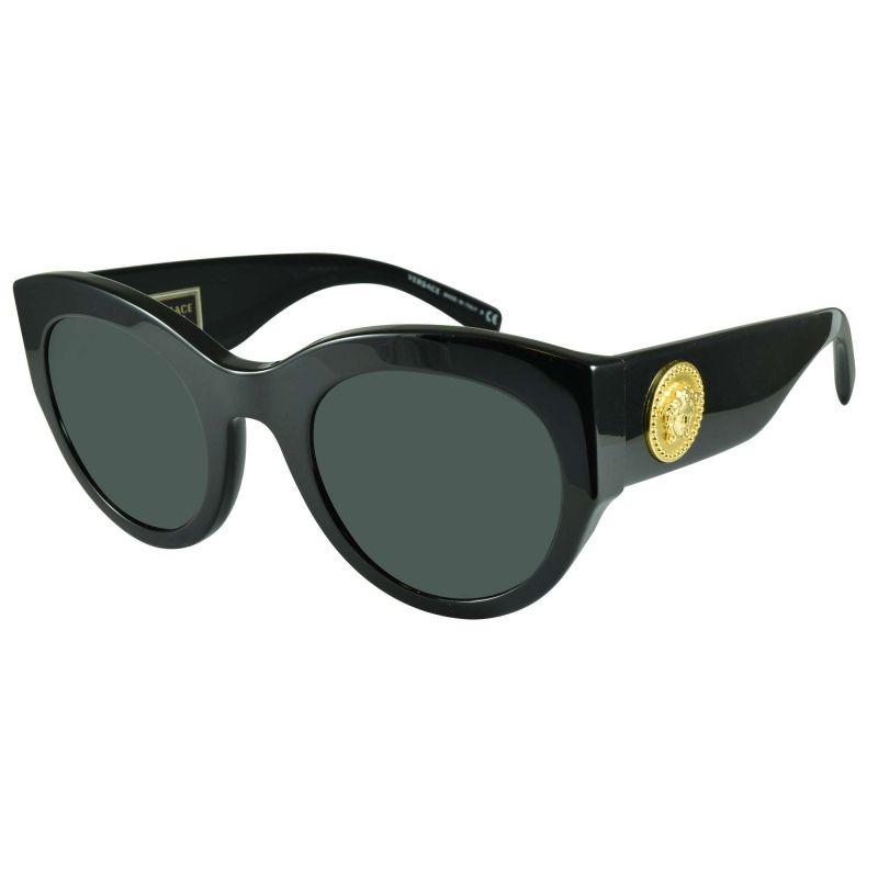 318e837ff Óculos De Sol Versace Ve4353 Gb1/87 51x26 140 - R$ 702,24 em Mercado ...