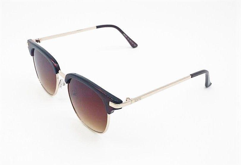 955d0e617fc23 óculos de sol vezatto marrom acetato metal lm9291 c4. Carregando zoom.