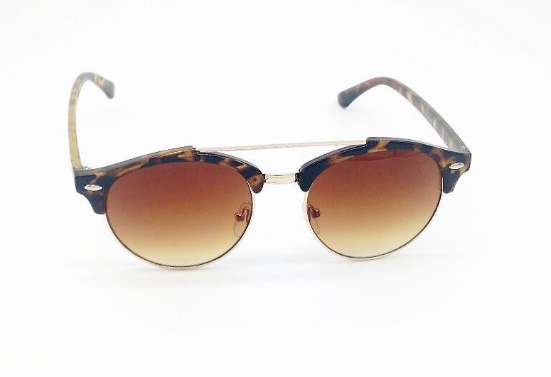 ff8a529031a7a Óculos De Sol Vezatto Marrom Aviador Acetato Metal Yd1702 C6 - R  120