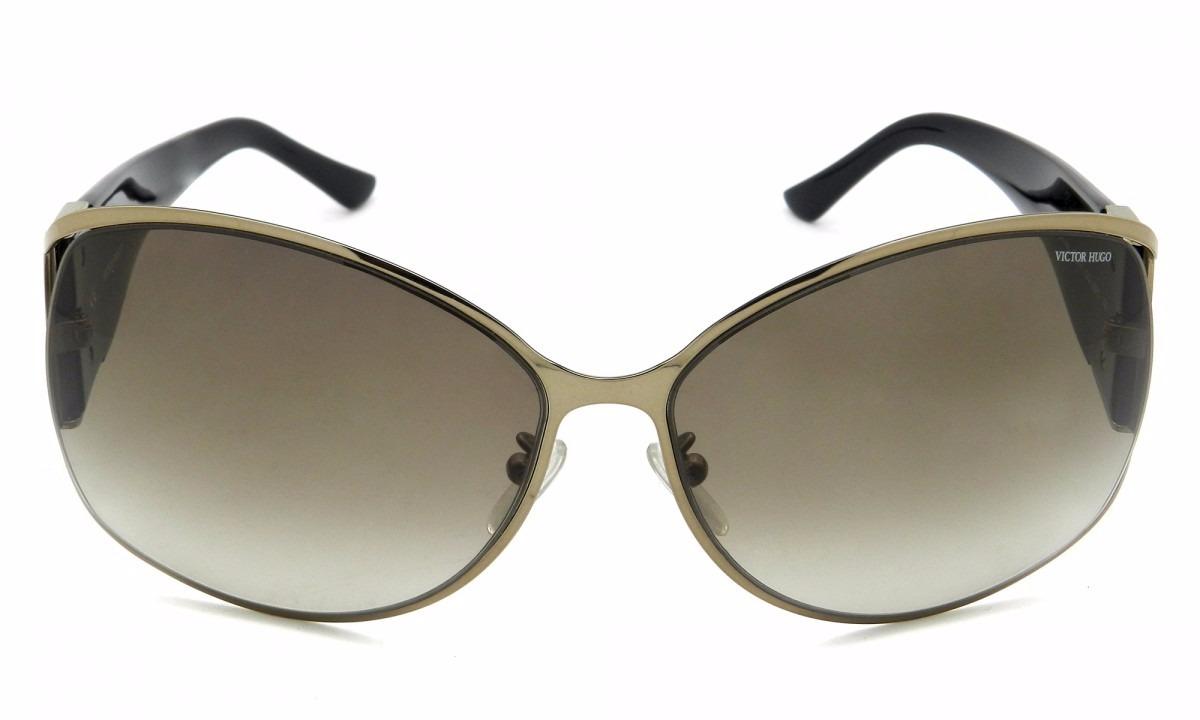 d0c878d3aab0a Óculos De Sol Victor Hugo - Sh1168 Col.08fe 65-14 - R  399